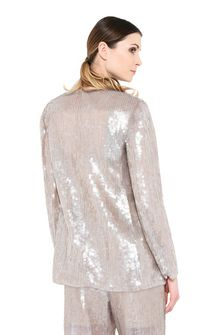 ALBERTA FERRETTI Single-breasted jacket with sequins Blazer Woman r
