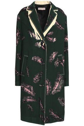 EMILIO PUCCI Printed wool-crepe jacket
