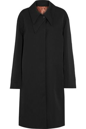 LEMAIRE Wool-twill coat