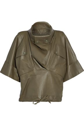 NINA RICCI Leather jacket