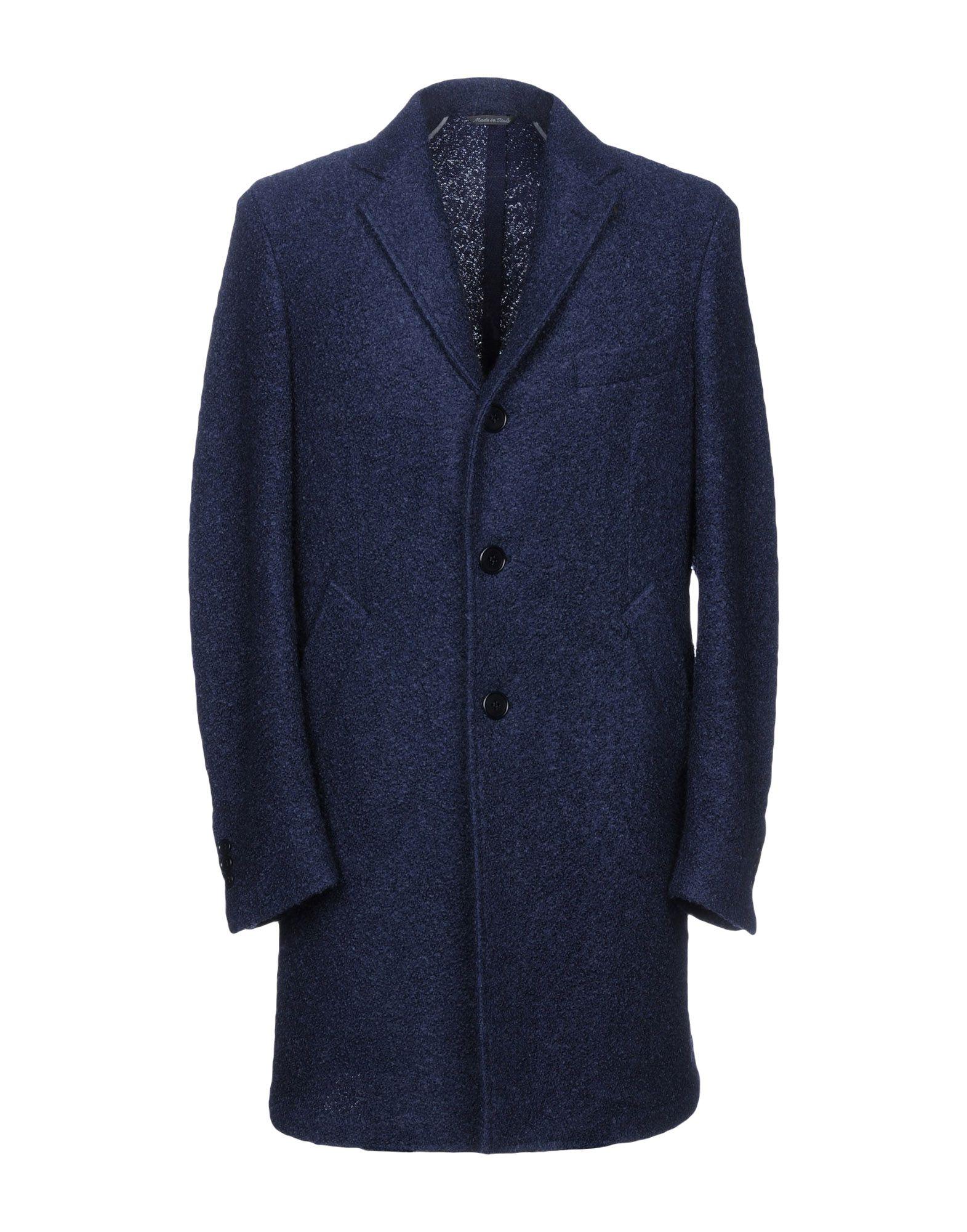 TOMBOLINI Coat in Dark Blue