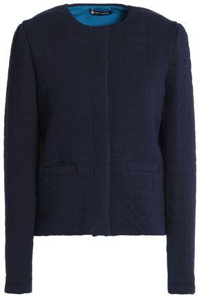 PETIT BATEAU Quilted cotton-blend jersey jacket