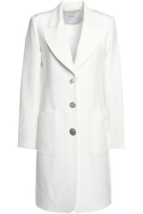 ADAM LIPPES Embellished silk-satin jacket