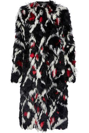 PROENZA SCHOULER Intarsia alpaca coat