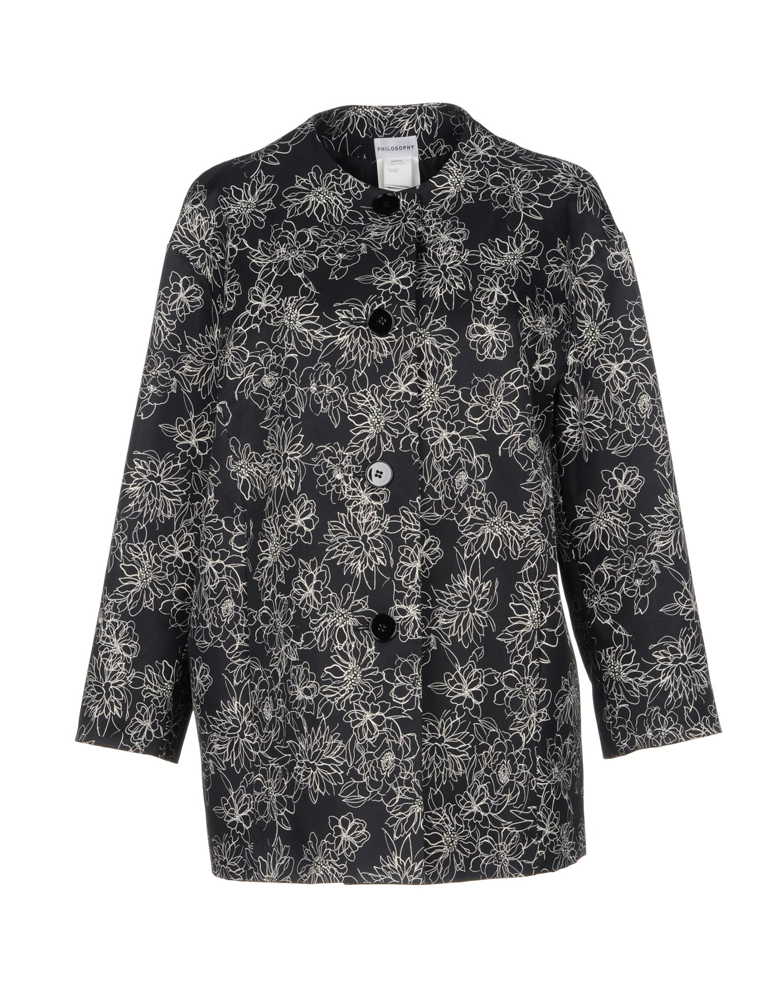 Фото - PHILOSOPHY di ALBERTA FERRETTI Легкое пальто philosophy di alberta ferretti легкое пальто