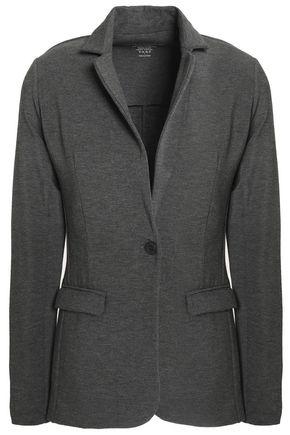 MAJESTIC FILATURES Mélange stretch-jersey blazer