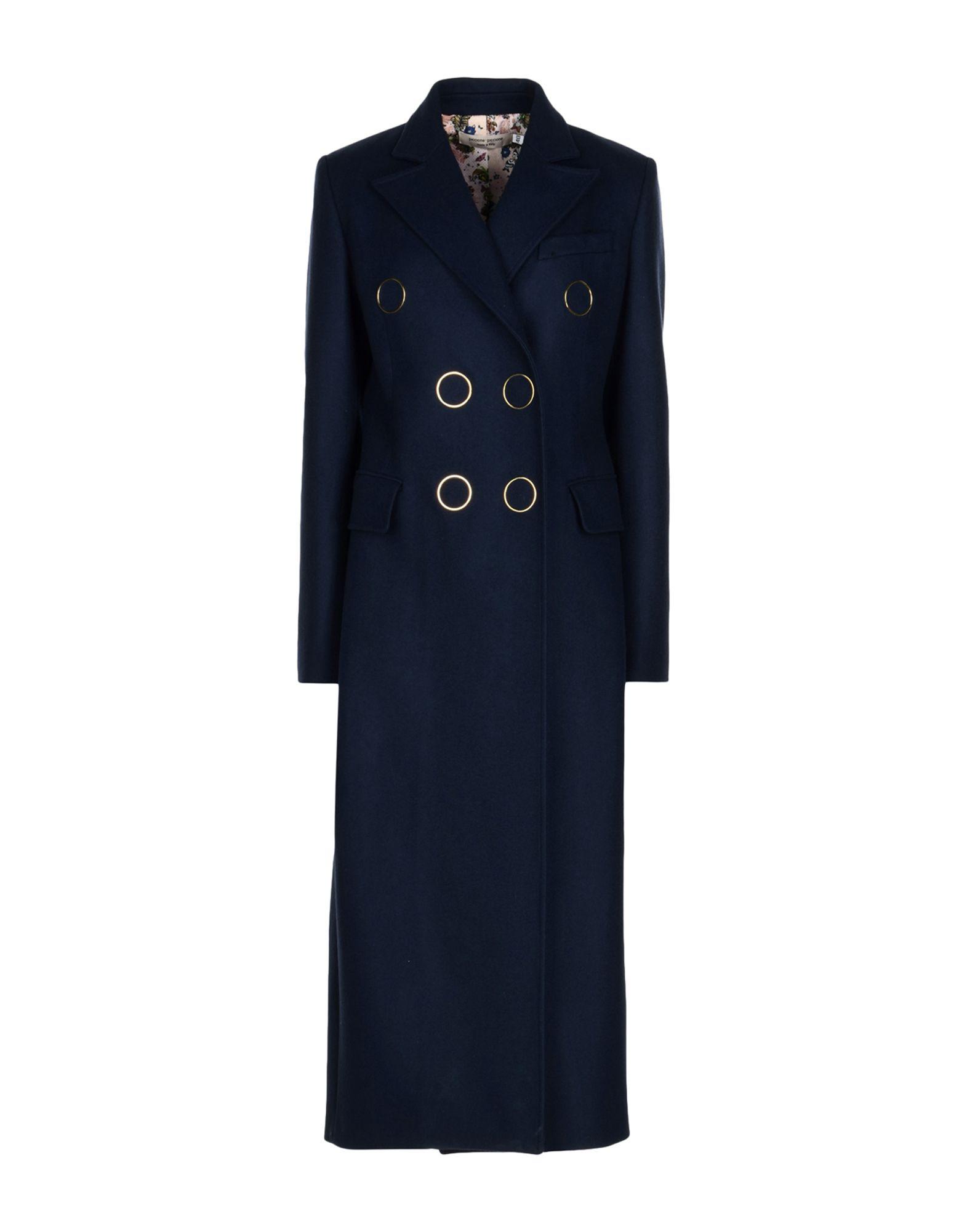 PICCIONE.PICCIONE Coat in Dark Blue