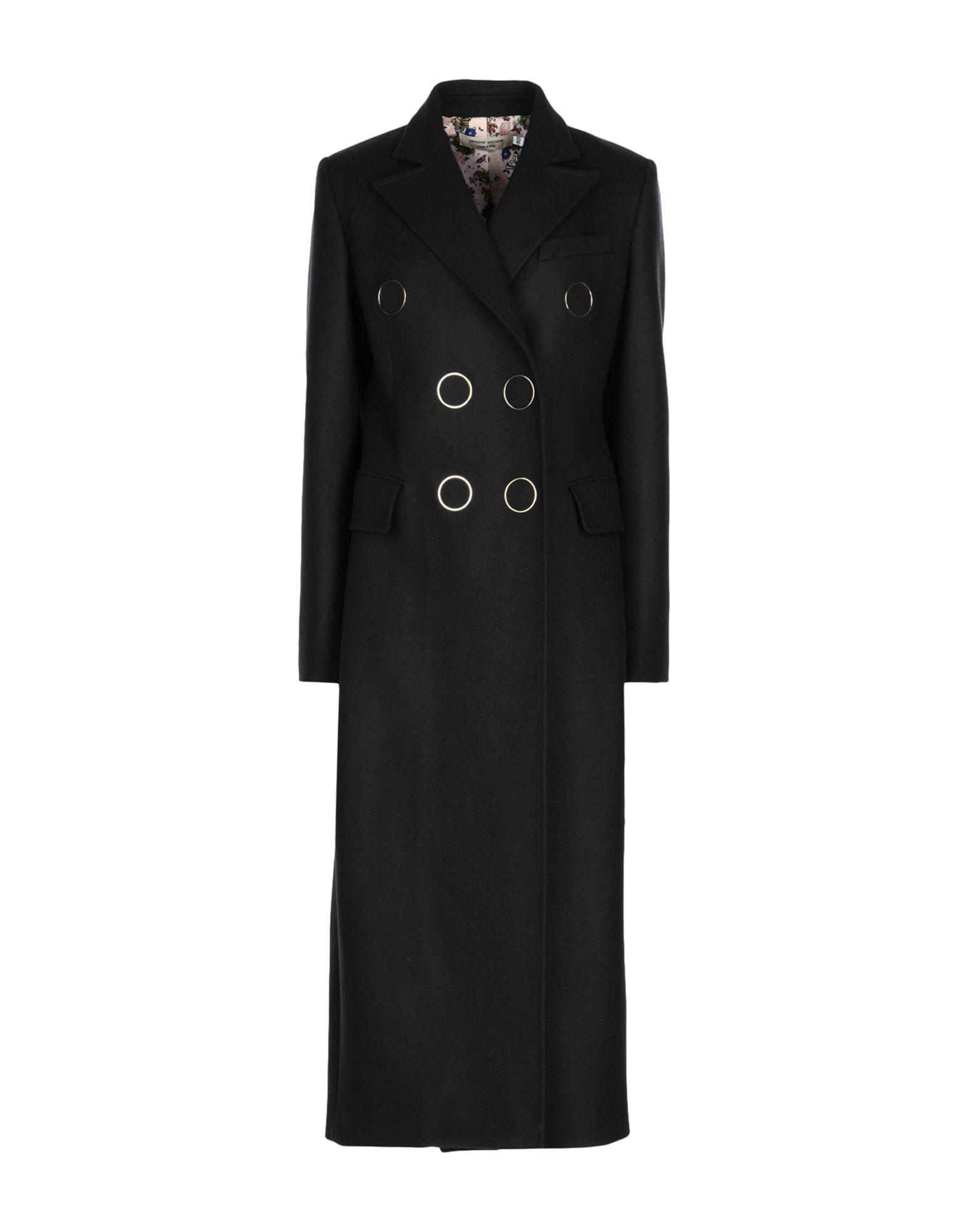PICCIONE.PICCIONE Coat in Black
