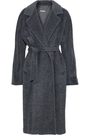 ELIE TAHARI Calissi metallic wool-blend coat
