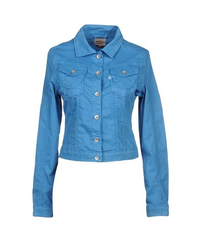 SUPERDRY Damen Jacke Azurblau Größe L 96% Baumwolle 4% Elastan