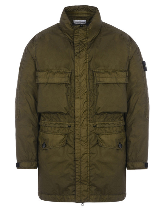 STONE ISLAND LONG JACKET 70123 MEMBRANA 3L TC