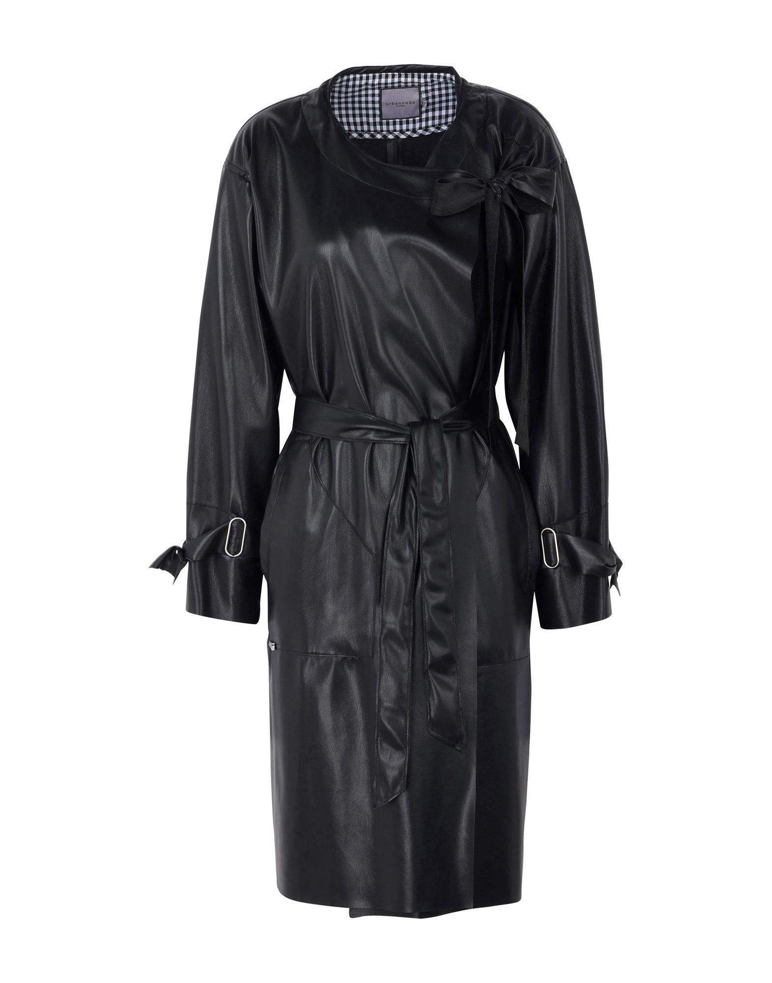 URBANCODE Overcoats in Black