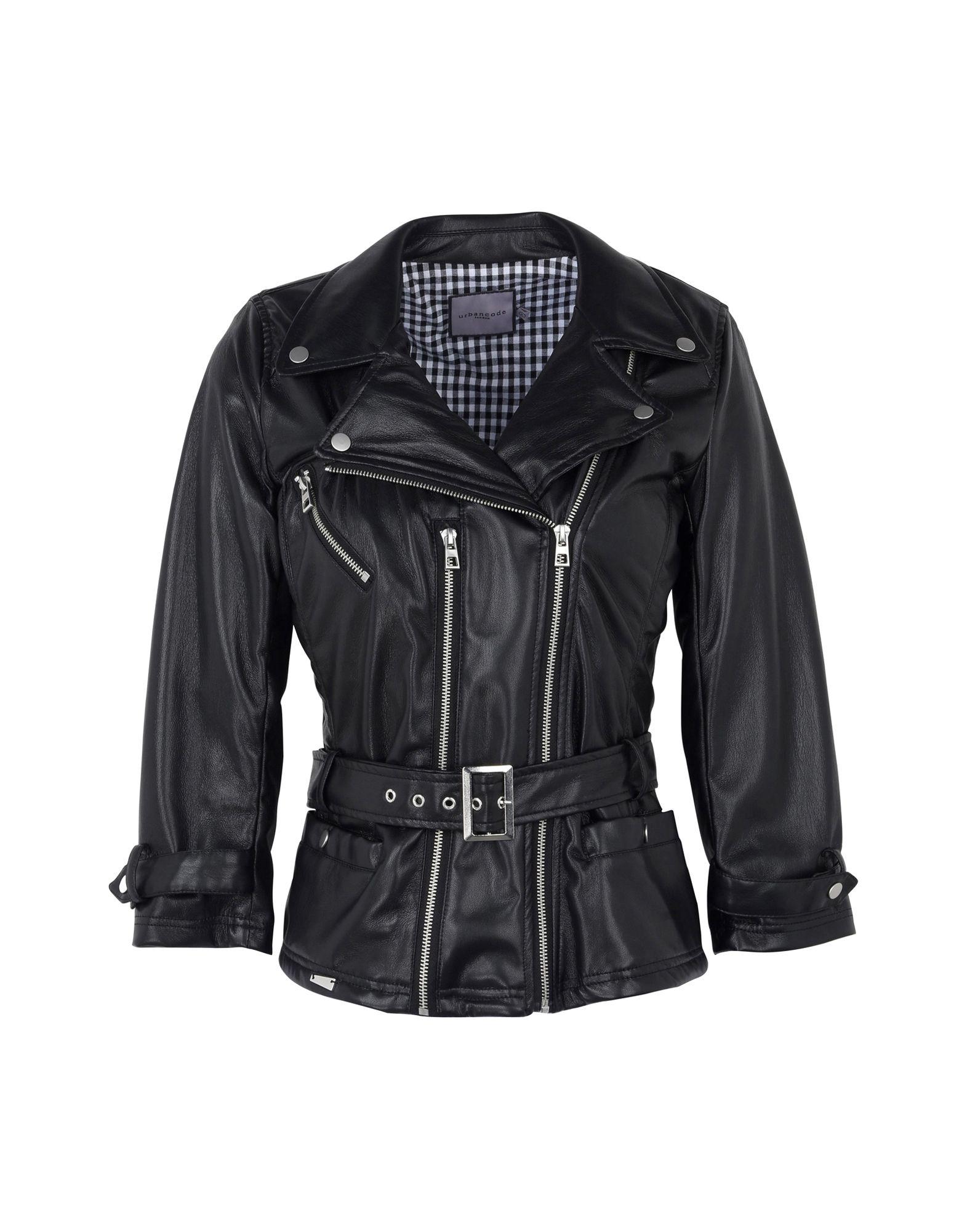 URBANCODE Jackets in Black