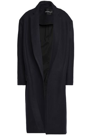 NICHOLAS Wool and cashmere-blend felt coat