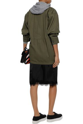 ALEXANDERWANG.T Cotton-gabardine jacket