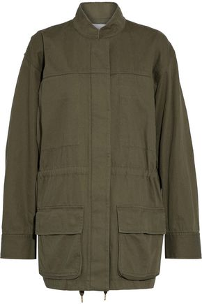 T by ALEXANDER WANG Cotton-gabardine jacket