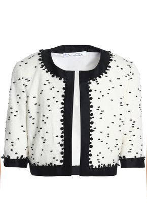 OSCAR DE LA RENTA Bouclé jacket