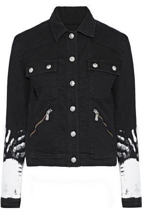 VERSUS VERSACE Painted denim jacket