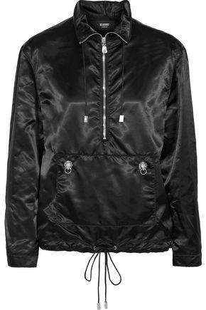 VERSUS VERSACE Embellished satin-shell jacket