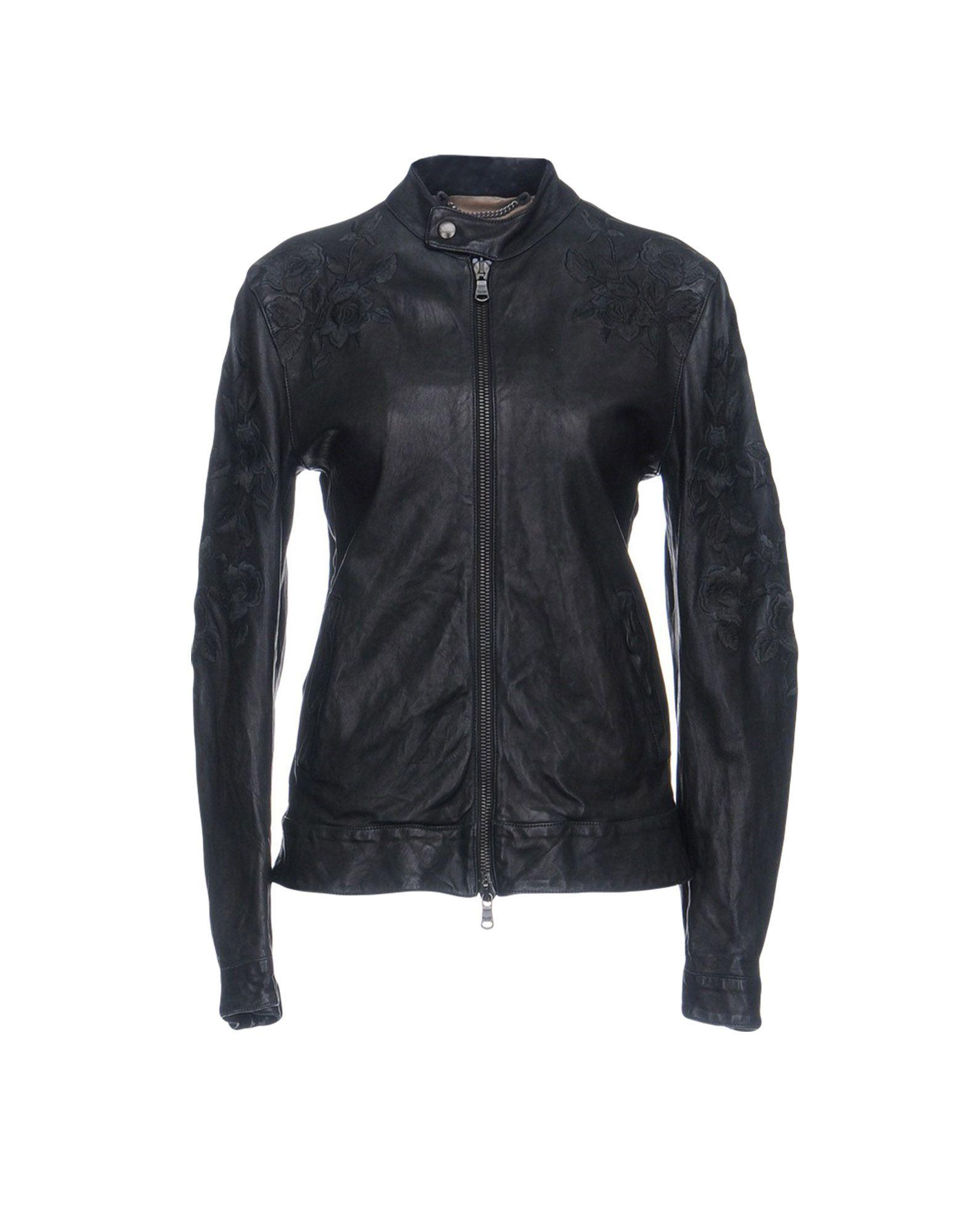 PIHAKAPI Biker Jacket in Steel Grey