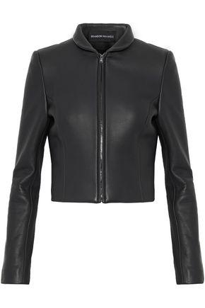 BRANDON MAXWELL Leather jacket