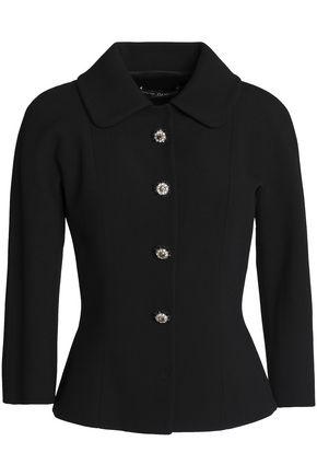 DOLCE & GABBANA Crystal-embellished crepe jacket