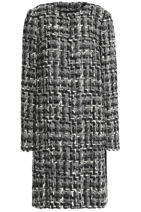 DOLCE & GABBANA Wool-blend tweed coat