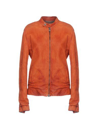 Фото - Женскую куртку  ржаво-коричневого цвета