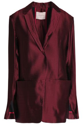 ROKSANDA Ravenna wool-blend satin blazer