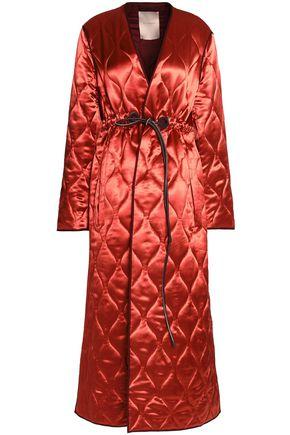 ROKSANDA Quilted satin coat