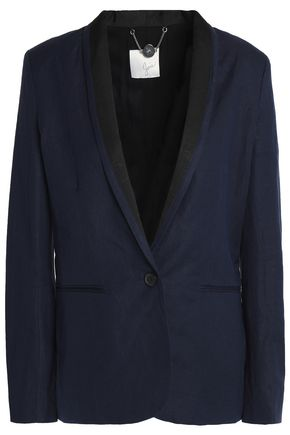 JOIE Amit linen and cotton-blend blazer