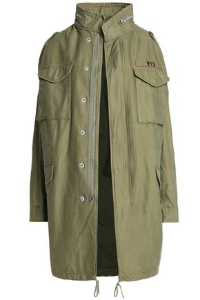 R13 Cotton-canvas jacket