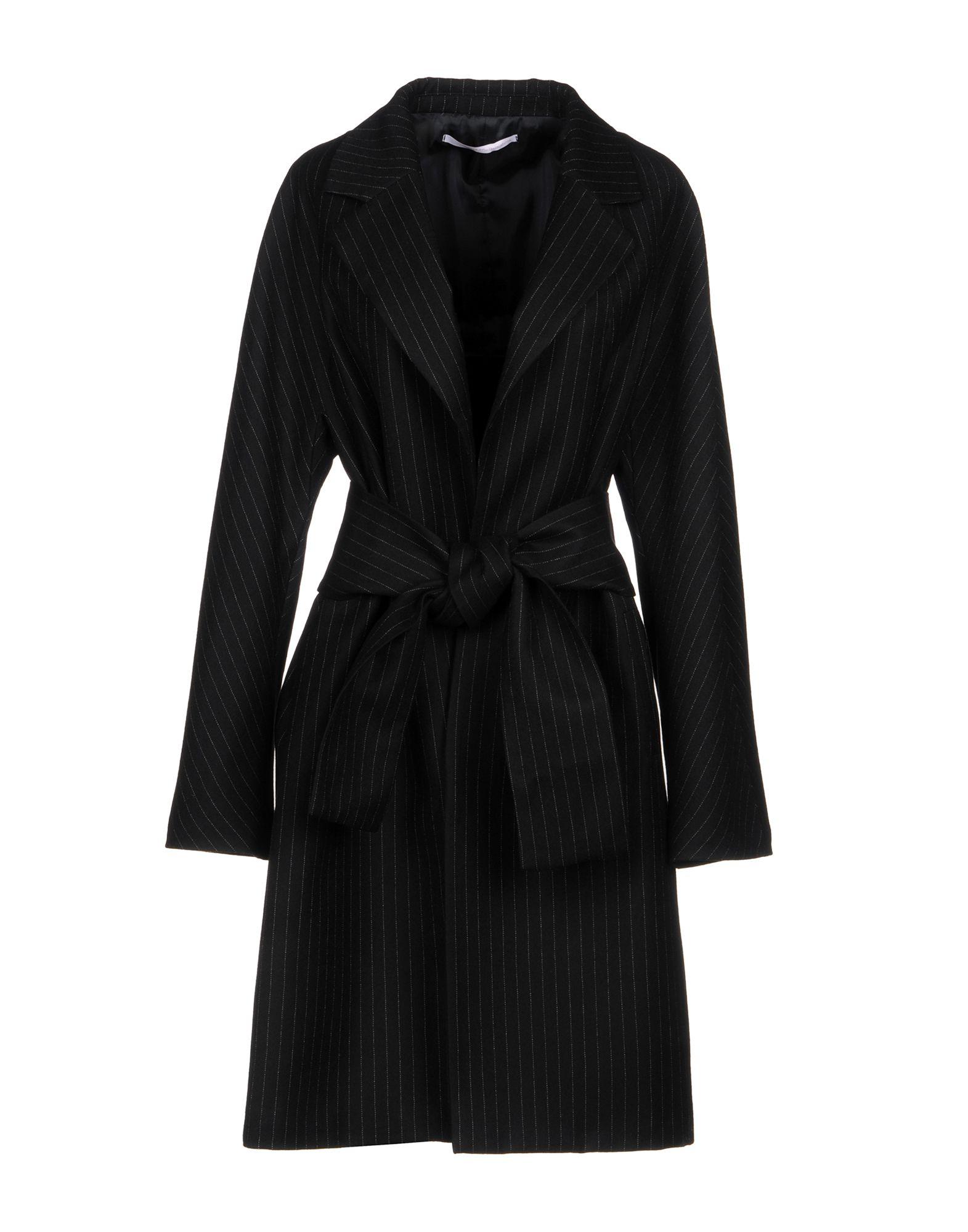MAISON LAVINIATURRA Пальто 2016 осенью дамы сукно slim шерстяные пальто в длинные пальто