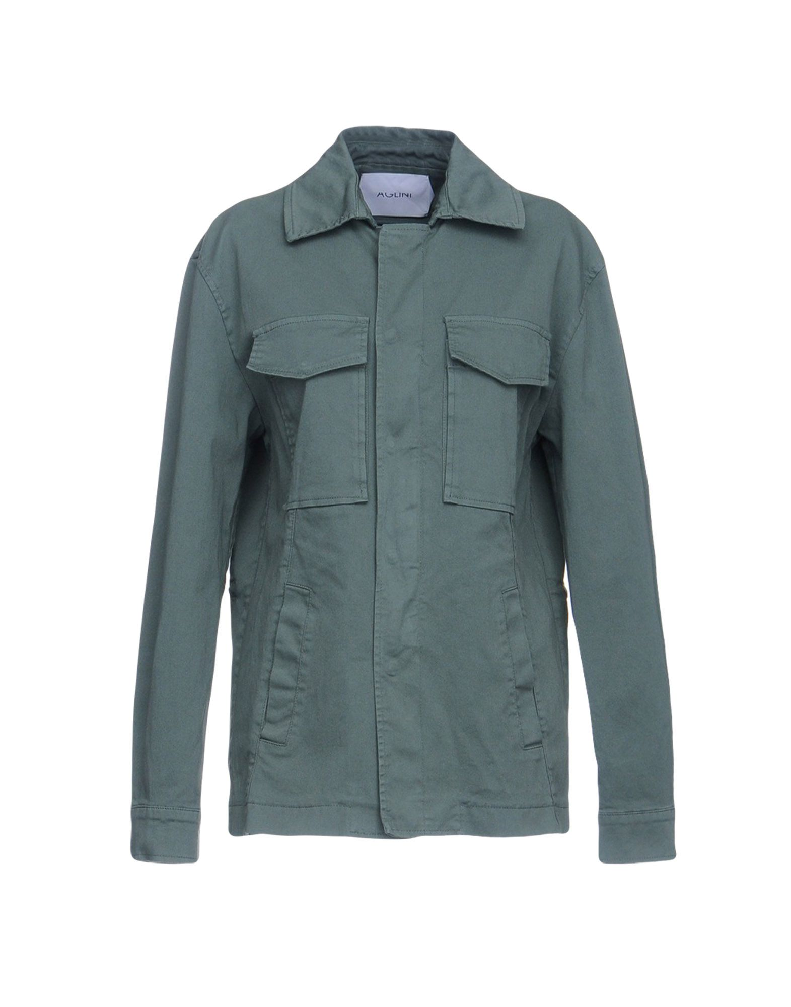 AGLINI Jacket in Military Green