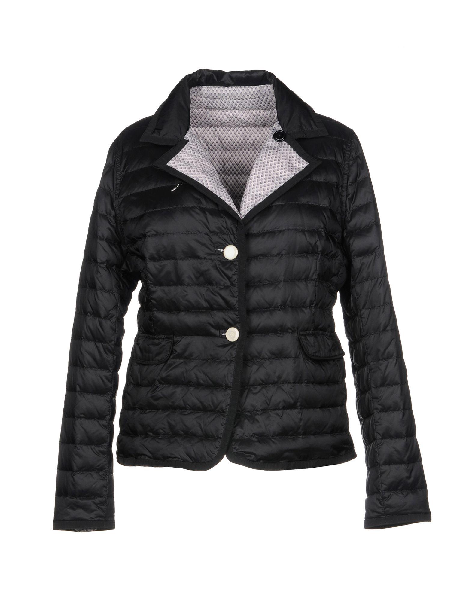 DIEGO M Down Jacket in Black
