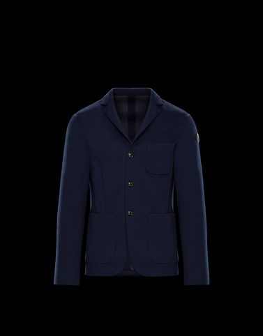 WIMEREUX Dark blue Category Overcoats