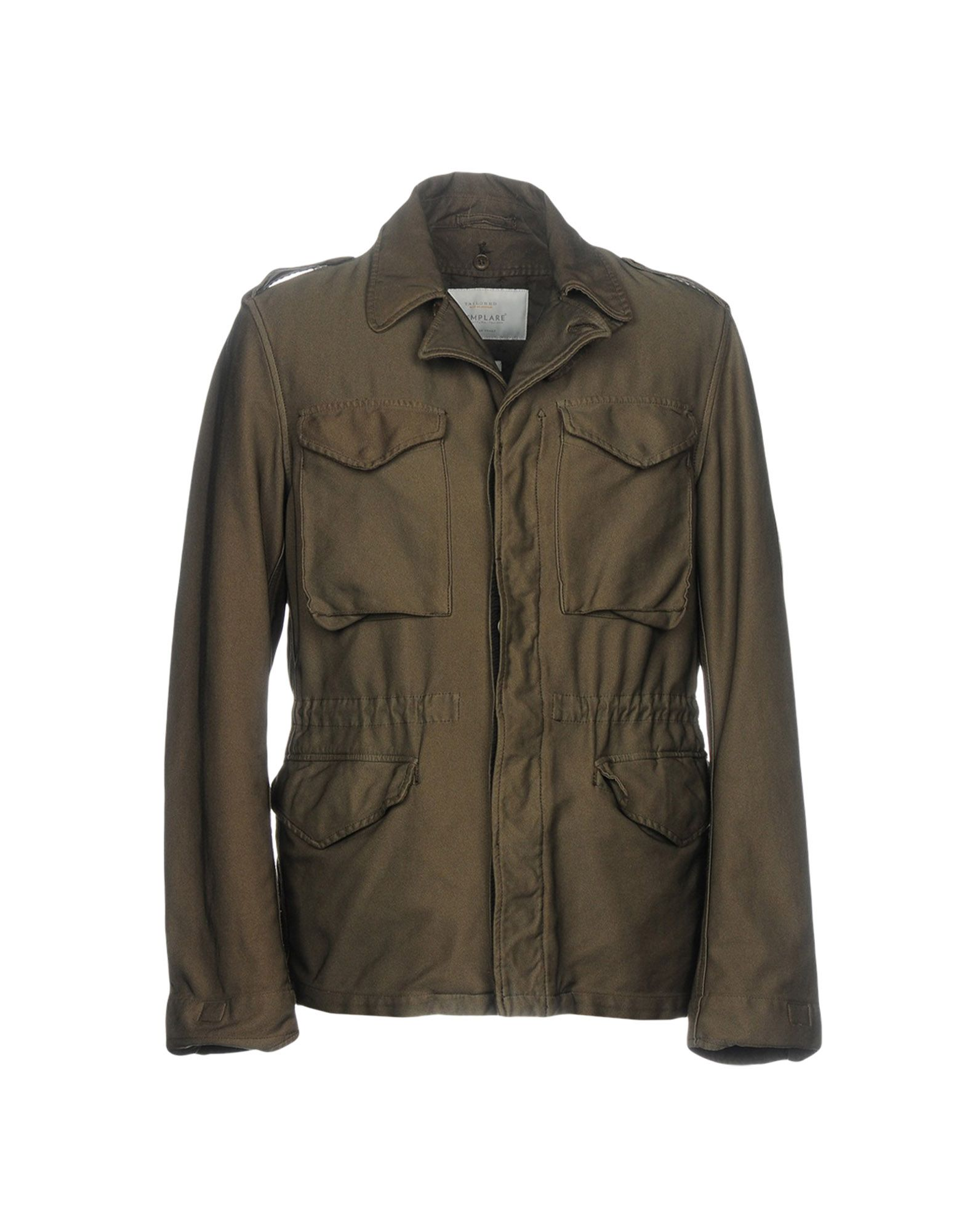 ESEMPLARE Jacket in Military Green