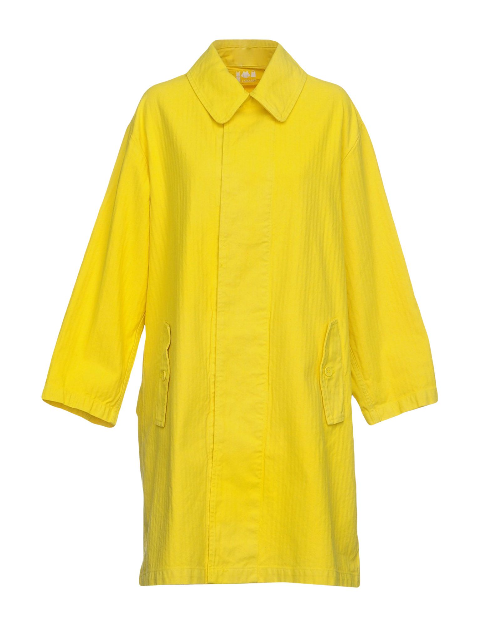 LABO ART Labo. Art Overcoats in Yellow