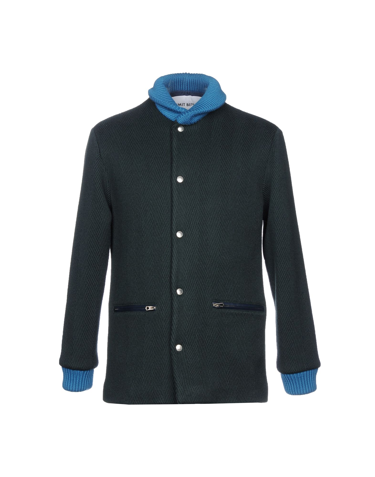 UMIT BENAN Jacket in Dark Green
