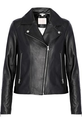 SOIA & KYO Leather biker jacket