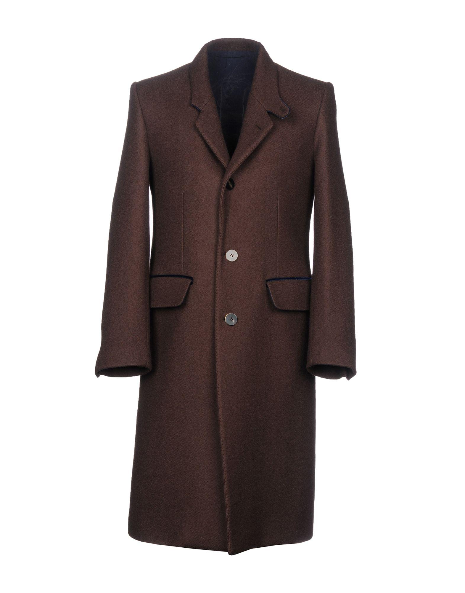 UMIT BENAN Coat in Cocoa