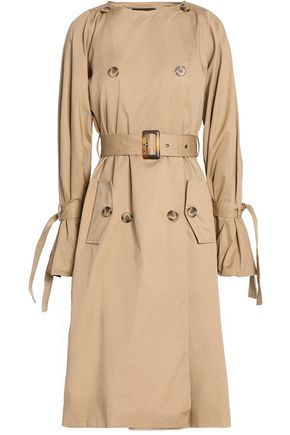 W118 by WALTER BAKER Cotton-twill trench coat