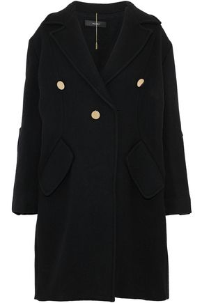 ELLERY Janice button-detailed wool-blend coat