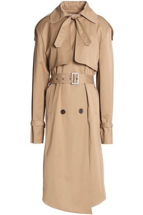 MAGDA BUTRYM Belted stretch-canvas trench coat