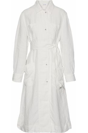 TOMAS MAIER BBelted linen gauze trench coat