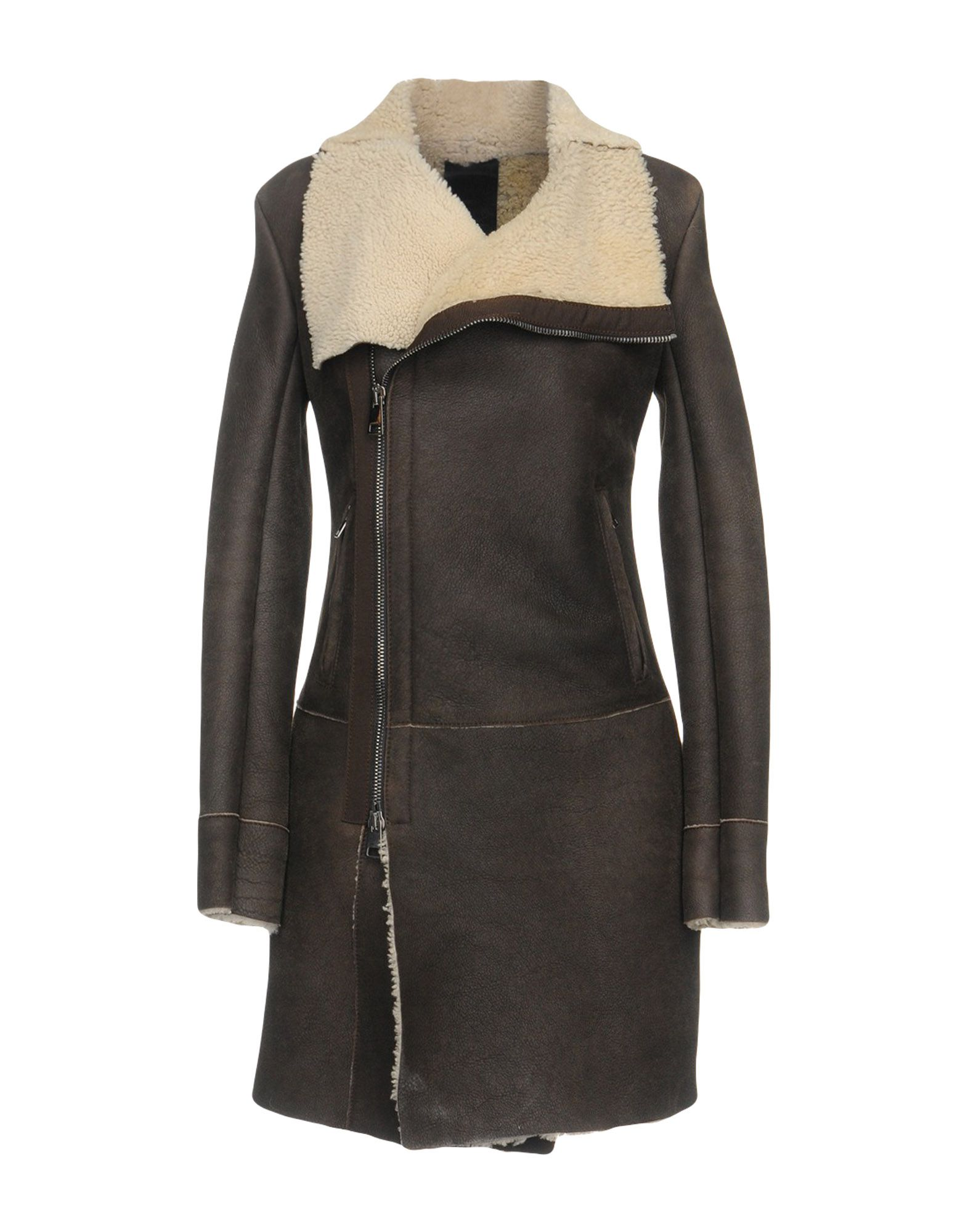 GIOCASTA Jackets in Dark Brown