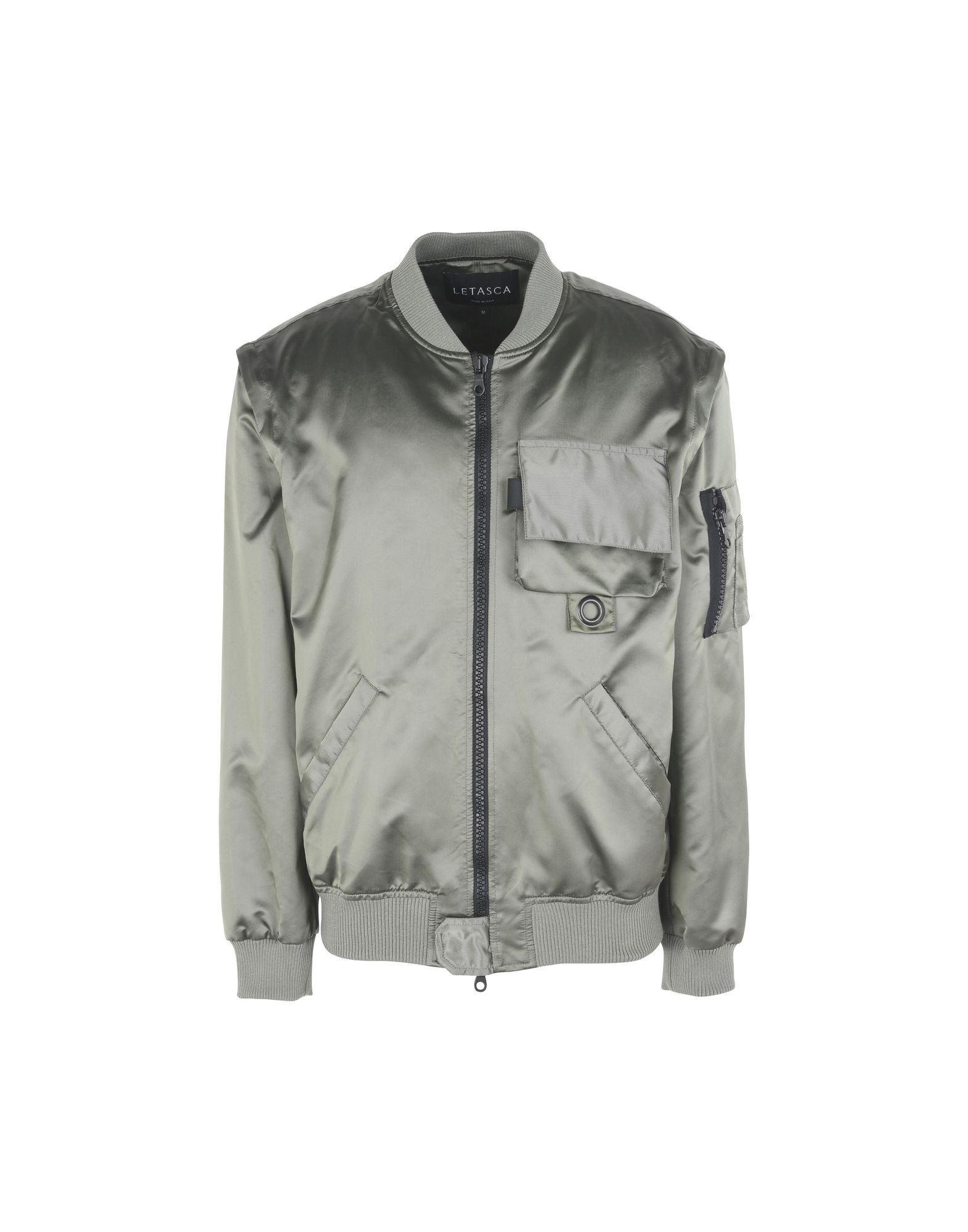 LETASCA Bomber in Military Green