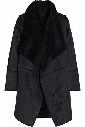LINE Pippa faux shearling coat