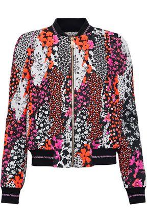 VERSACE Cloqué-jacquard bomber jacket