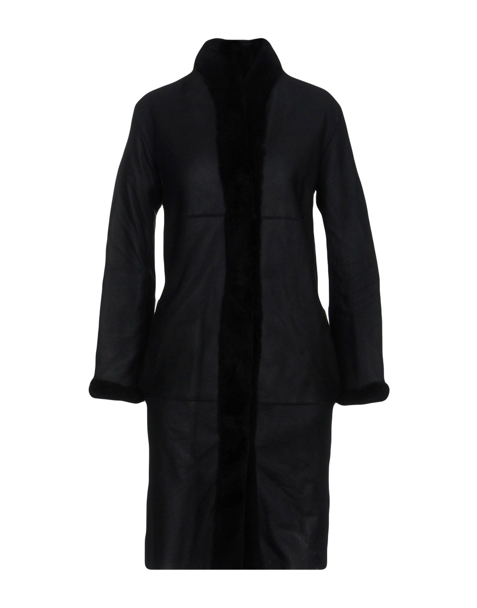 IRIS & INK Leather Jacket in Black